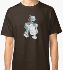Two little robots - colour version Classic T-Shirt