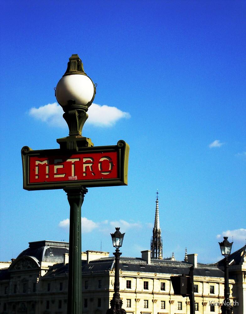 The Metro - Paris by Kim North