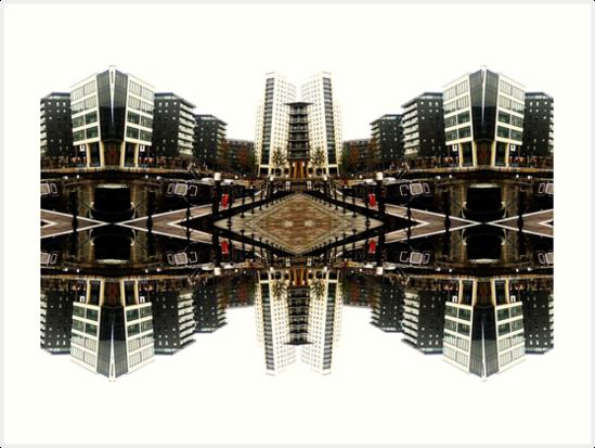 leeds city scape by H J Field