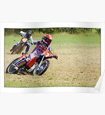 Grass track racing, Poster