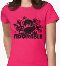 """Adorable - """"Be Deeztinguished"""" Women's Fitted T-Shirt"""