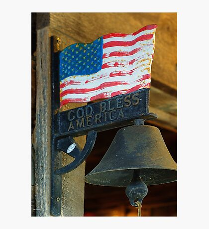 Ring the Bell Photographic Print