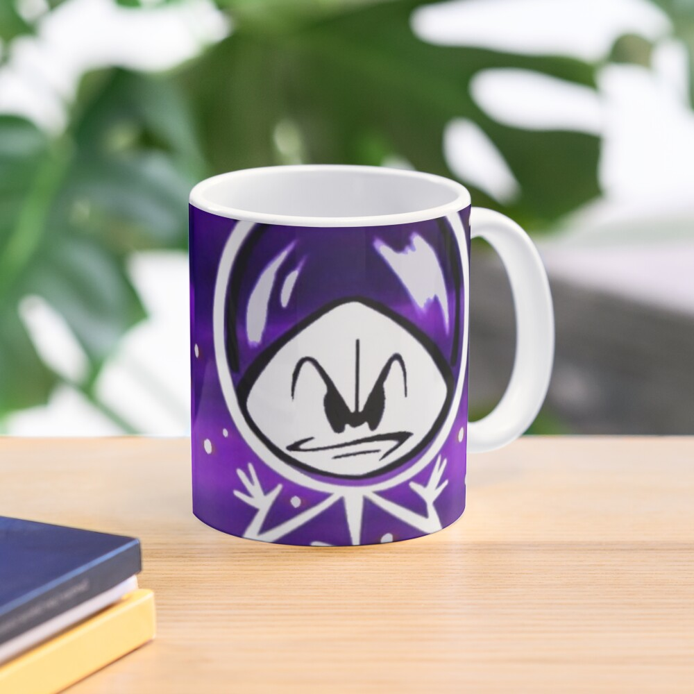 Colonel Bleep In Retro Outer Space. Mug