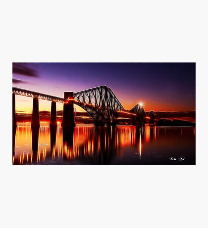 Forth Rail Bridge Photographic Print