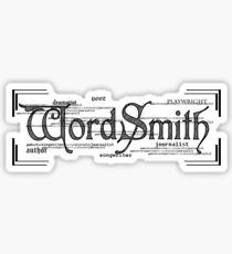 Wordsmith Sticker