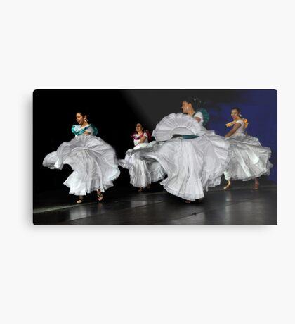 Latin American Dancers Metal Print