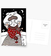 Lumi Olento (See no Evil) Postcards