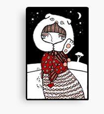Lumi Olento (Speak no Evil) Canvas Print