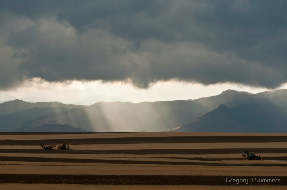 Foothills Storm by Gregory J Summers