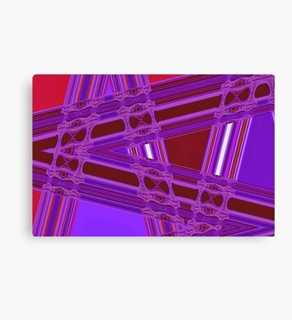 Where The Roads Cross Canvas Print