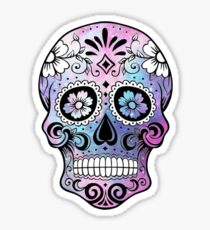 Sugar Skull Galaxy Sticker