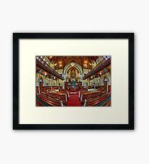 Albert St Uniting Church • Brisbane • Australia Framed Print