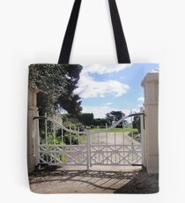 Gates - Woolmers Estate, Tasmania - A World Heritage Site Tote Bag