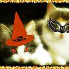 Have a Purrrfect Safe Halloween!!! © by Dawn Becker