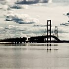 Clouds Over the Bridge by Theodore Black