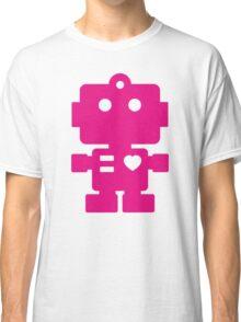 Robot - Magenta Classic T-Shirt