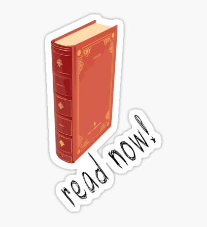 read now! Sticker