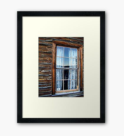 19th Century Window Framed Print