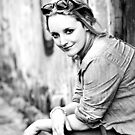 Melbourne Portrait Shoot 5 b/w by Trish Woodford