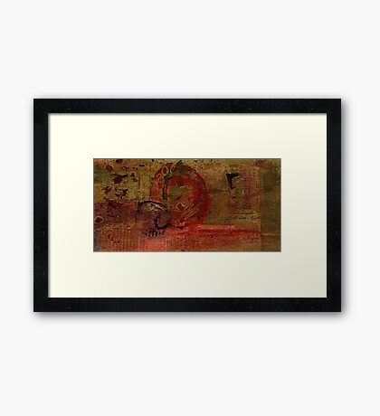 Rock Solid III Framed Print
