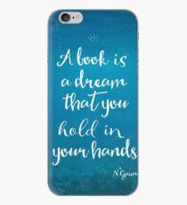 Neil Gaiman quote underwater iPhone Case