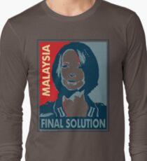 Julia - Final Solution, Cream Long Sleeve T-Shirt