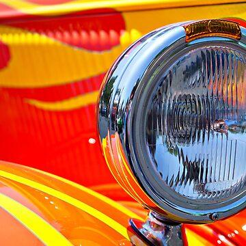 One Flaming Headlight by keystone