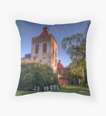 Somethings Brewing - Goulburn Brewery c1833 - Goulburn NSW - The HDR Experience Throw Pillow