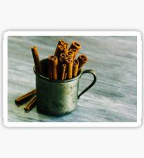 Cinnamon sticks Sticker