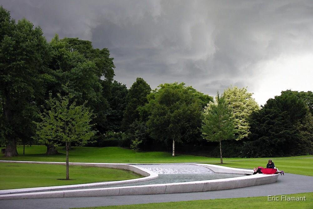 Diana Memorial Fountain by Eric Flamant