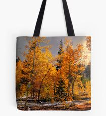 Where The Gold Is ~ Aspen Trees ~ Tote Bag