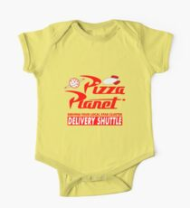 Pizza-Planet Baby Body Kurzarm