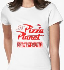 Pizza Planet Women's Fitted T-Shirt