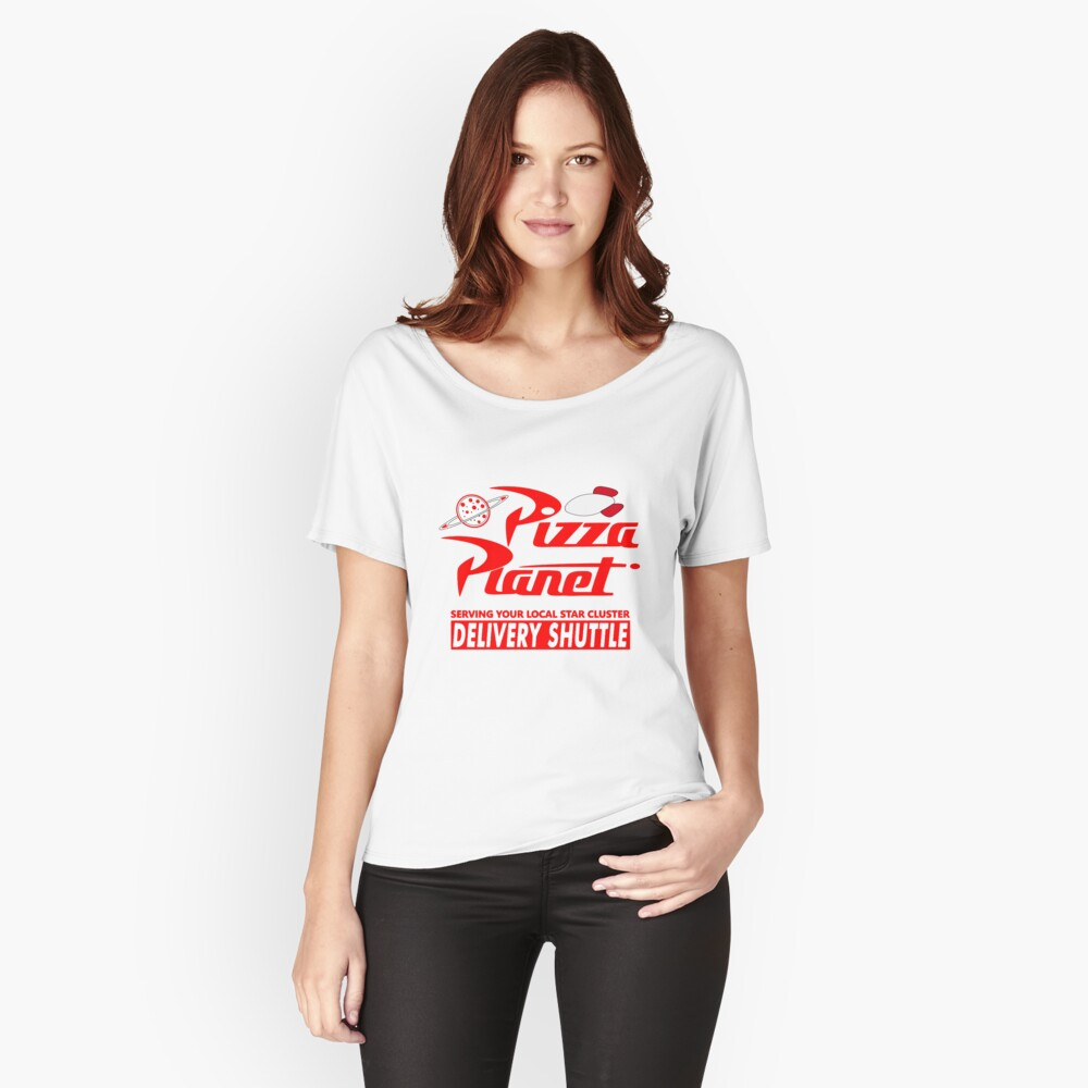 Pizza-Planet Loose Fit T-Shirt