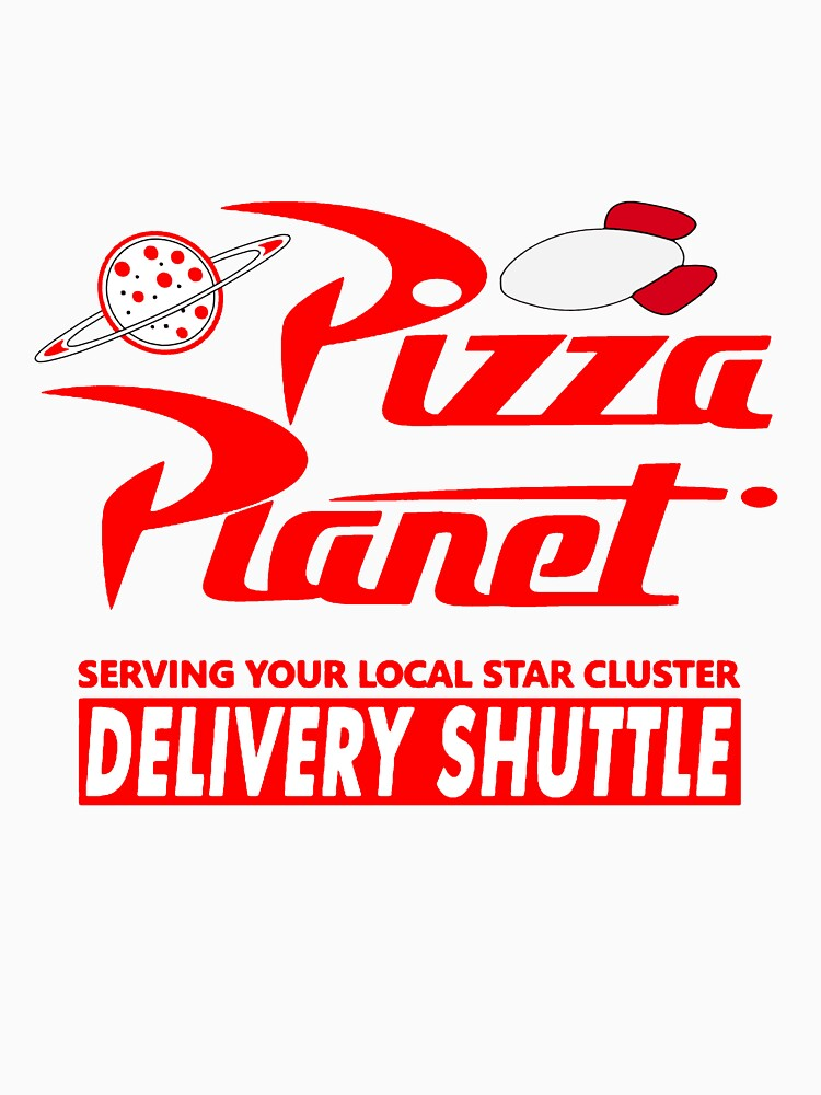 Pizza Planet by Noveltee-Shirts
