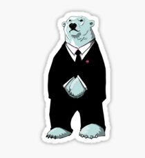 Be Cool Polar Bear. Sticker