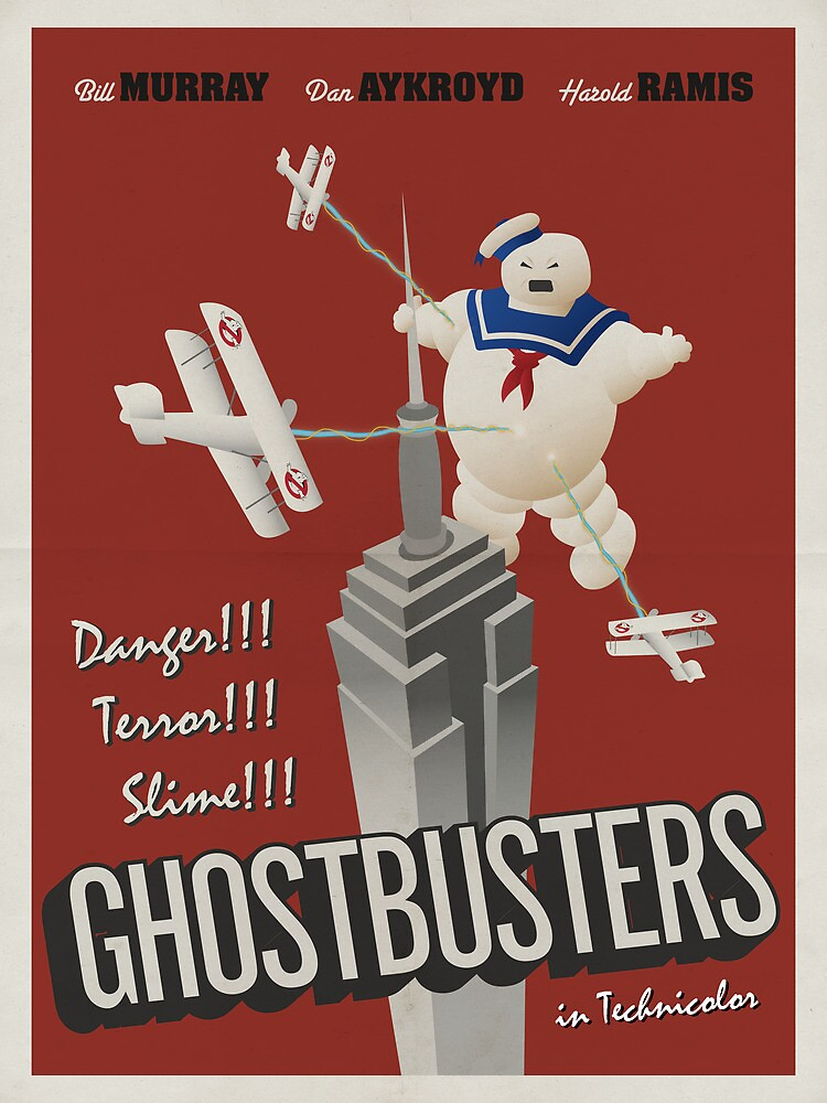 Ghostbusters by Matt Owen