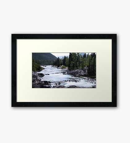 Elbow River View Framed Print