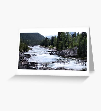 Elbow River View Greeting Card