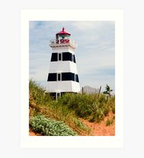 West Point Lighthouse, PEI, Canada Art Print