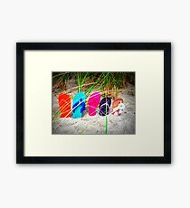 Left Behind #2 Framed Print