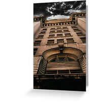 Liver Building Greeting Card