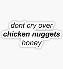 chicken nugz Sticker