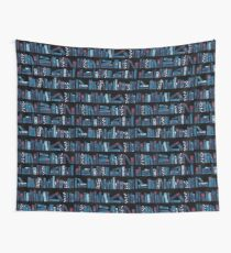Keep Reading. Black. Wall Tapestry
