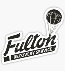 Fulton Recovery Service - Damaged Sticker