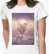 In the Stillness Women's Fitted T-Shirt