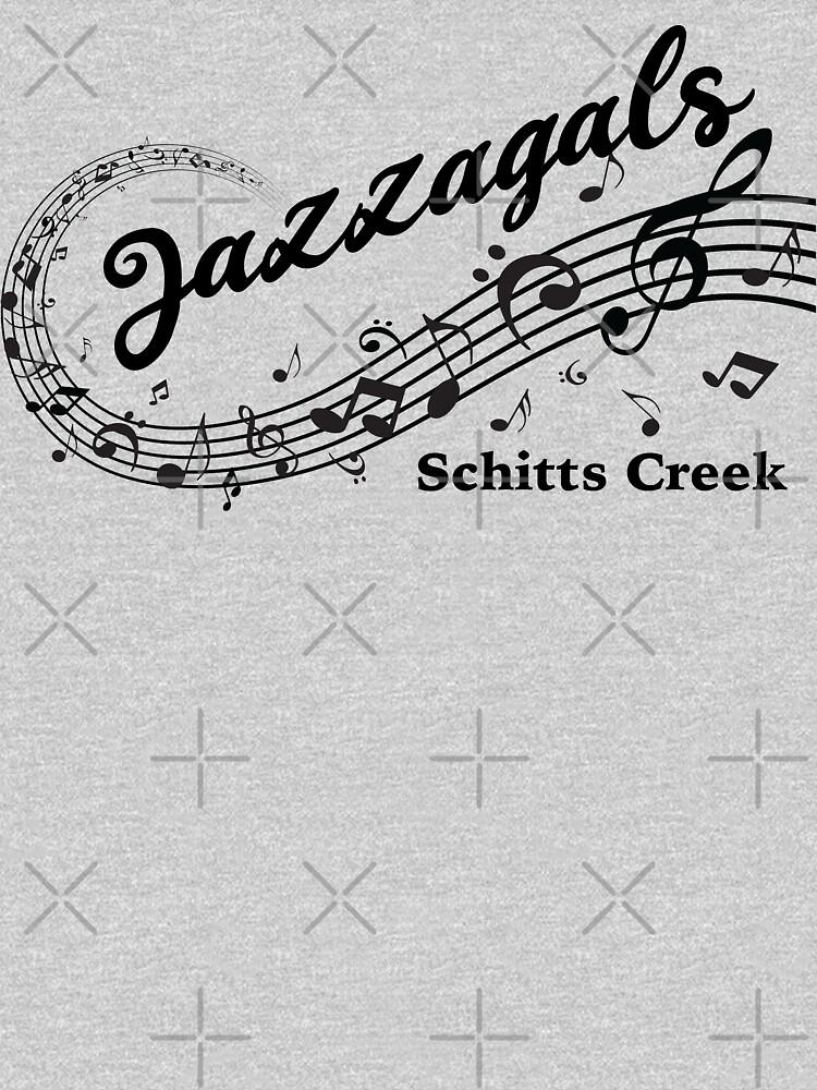 Jazzagals Schitts Creek by elishamarie28
