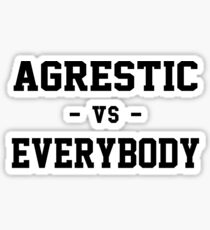 Agrestic VS Everybody Sticker