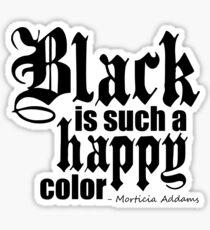 All Black Everything - Black Font Sticker
