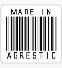 Made in Agrestic Sticker